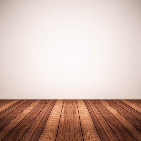 wood floor white white wall
