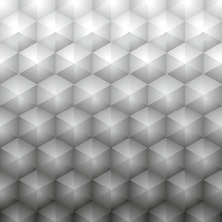 Polygonal geometric gray background