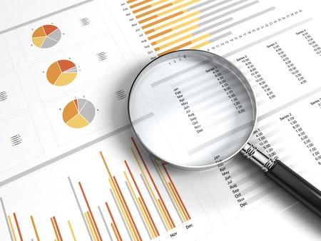 Foto de business chart - Imagen libre de derechos