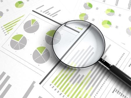 Photo pour business chart - image libre de droit