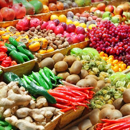 Foto für Fruits and vegetables at a farmer - Lizenzfreies Bild