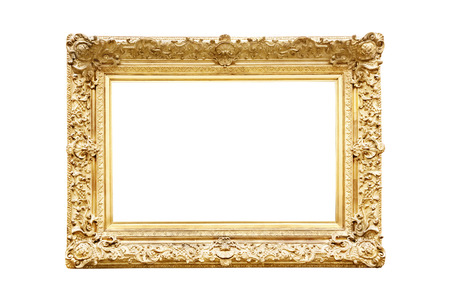 Photo for Golden frame - Royalty Free Image