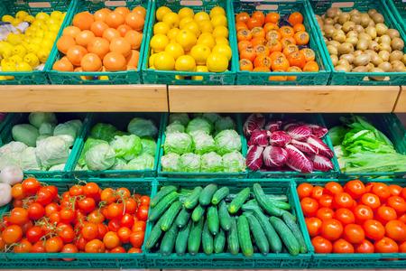 Foto für Fruits and vegetables - Lizenzfreies Bild