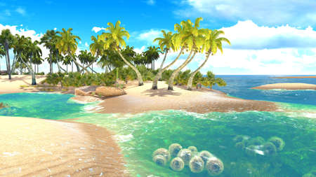 Foto de Tropical paradise beach - Imagen libre de derechos