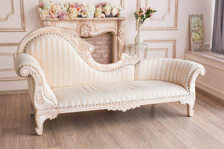 Photo for sofa in interior - Royalty Free Image