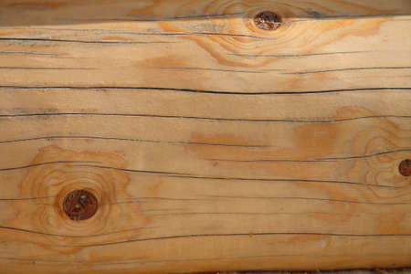 The wooden texture of beam, pattern on wood,  background
