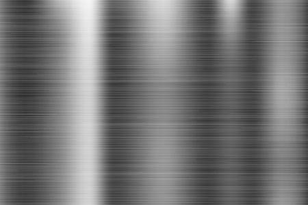 Illustration pour Metal texture. Scratched shiny 3d surface. Vector illustration - image libre de droit