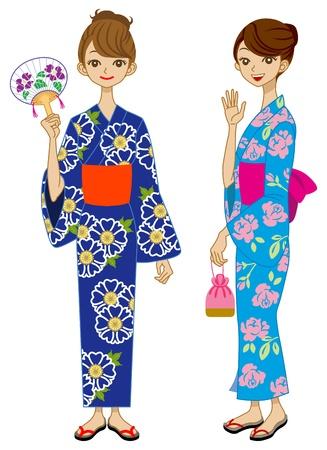 Two Yukata Girls
