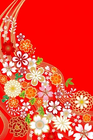 flower design,Japanese style