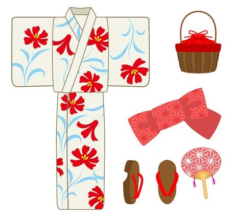 Yukata goods set