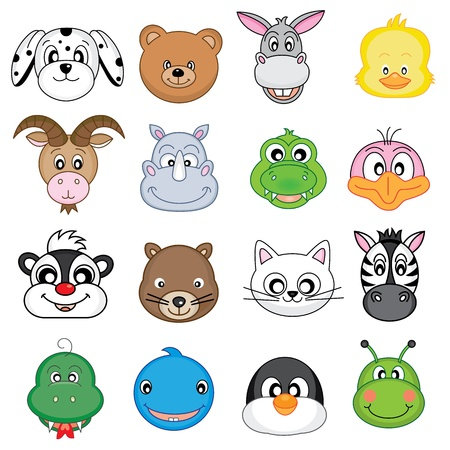 Photo for Animal Faces  - Royalty Free Image