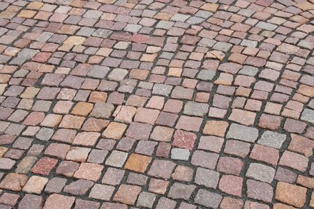 Photo for Paving stones on the street - Royalty Free Image