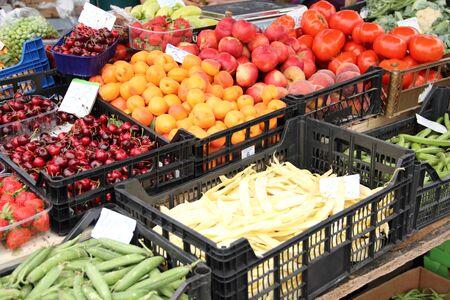Foto für Fruit and vegetable stall - Lizenzfreies Bild