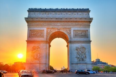 Arch of Triumph Paris France