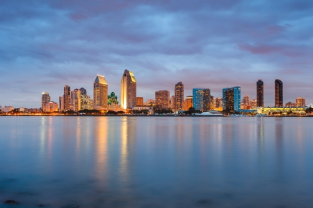 Photo for San Diego at night - Royalty Free Image