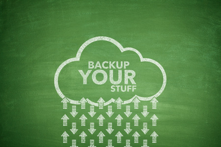 Backup your stuff on Blackboard