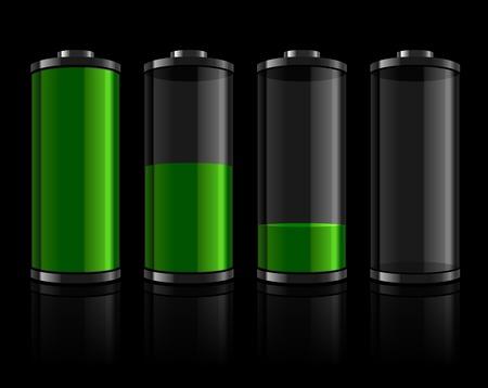 Battery levels set