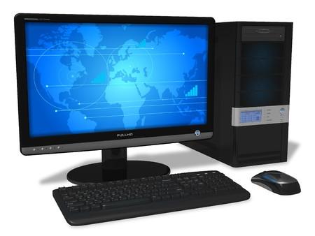 Foto de Desktop computer - Imagen libre de derechos