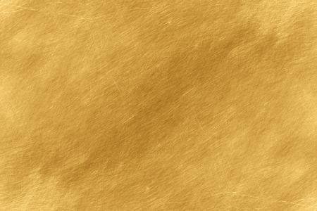 Photo pour Shiny yellow leaf gold foil texture background - image libre de droit