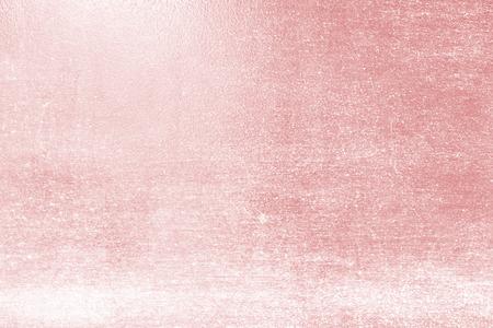 Foto de Rose Gold foil texture abstract red background - Imagen libre de derechos
