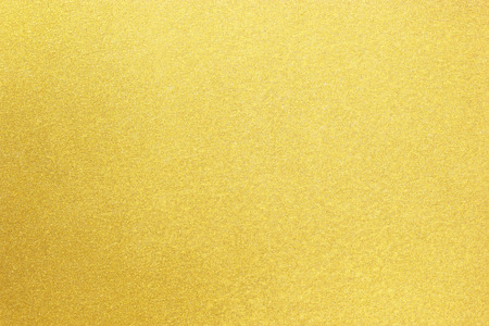 Photo for Shiny yellow leaf gold metall texture background - Royalty Free Image