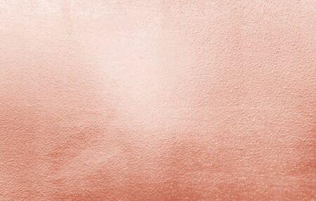 Photo pour Rose wall gold background texture industrial - image libre de droit