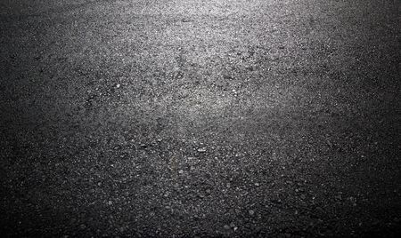 Photo for new paved road surface asphalt surface background - Royalty Free Image