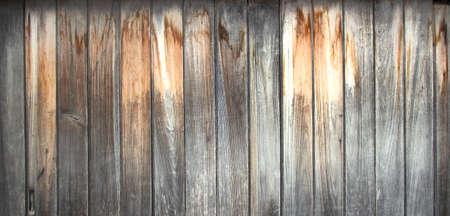 Foto de white wood texture backgrounds old vintage scratched weathered wooden wall. - Imagen libre de derechos