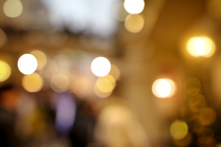 Photo pour Bokeh in the mall as an abstract background. Texture - image libre de droit