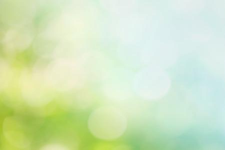 Foto de Abstract blur spring background. Bokeh - Imagen libre de derechos