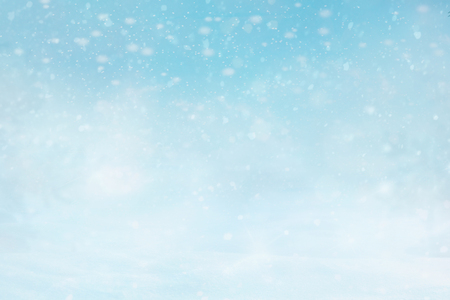 Photo pour Abstract Christmas winter snowly Background. - image libre de droit