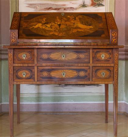 Antique furniture. The secretary
