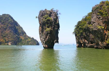 Ko Tapu, James Bond Island, Phang Nga Bay, Thailand, Asien