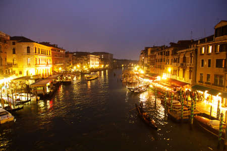 Canal Grande in Venice, Italy, Europe
