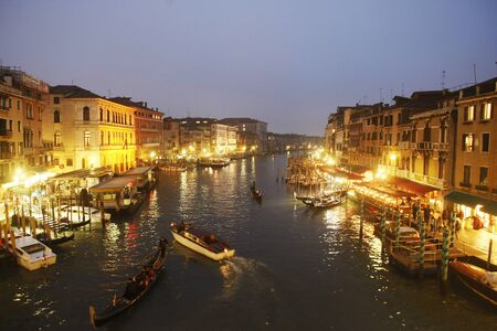 Canal Grande in Venice, Italy Europe