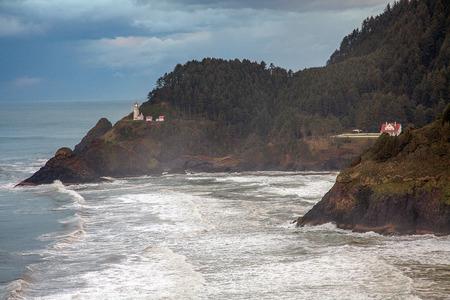 America rugged Pacific coast of Oregon