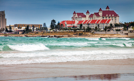 Photo for On the beach of Port Elizabeth South Africa - Royalty Free Image