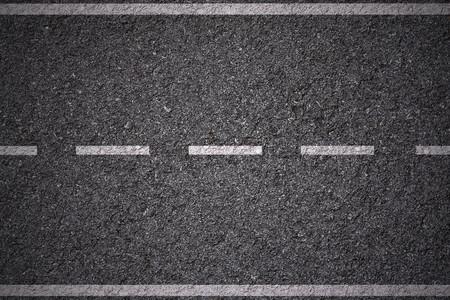 White lines on asphalt texture background