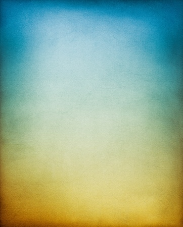A vintage, textured paper background with an earth to sky toned gradient.