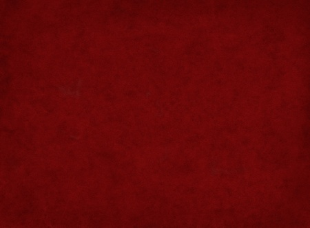 A textured, dark red background with a subtle vignette.