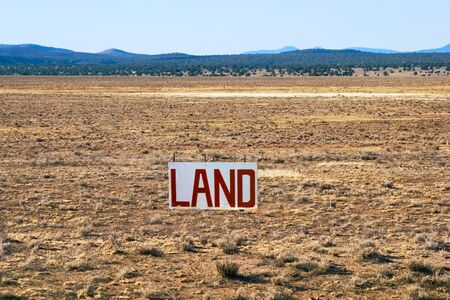 A large parcel of Arizona desert for sale.