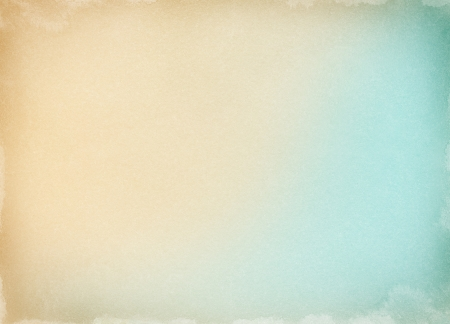 Old paper with a colored gradient and watercolor stains along the borders.  Image has a pleasing grain pattern at 100%.