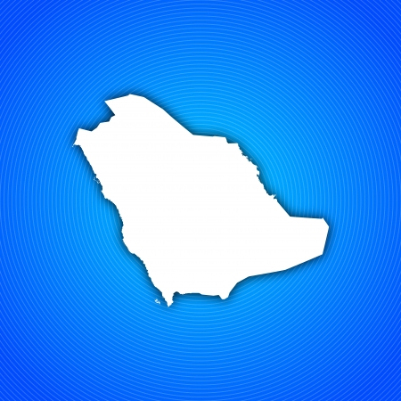 Political map of Saudi Arabia with the several provinces.