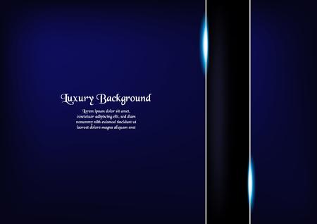 Ilustración de Abstract blue background in premium concept with copy space.Template design for cover, business presentation, web banner and packaging. - Imagen libre de derechos