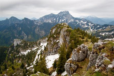 Photo pour Mountain Breitenstein bavaria - image libre de droit