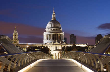Bridge to St. Pauls in London