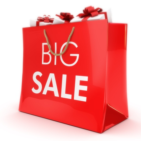 Big sale ,gift bag with gifts, Part of a series
