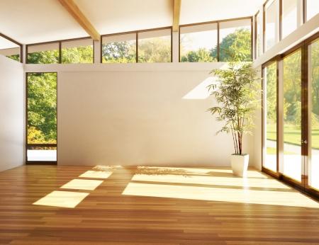 Modern interior, 3d model scene