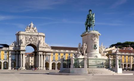 Plaza do comercio - Lisbon  Portugal