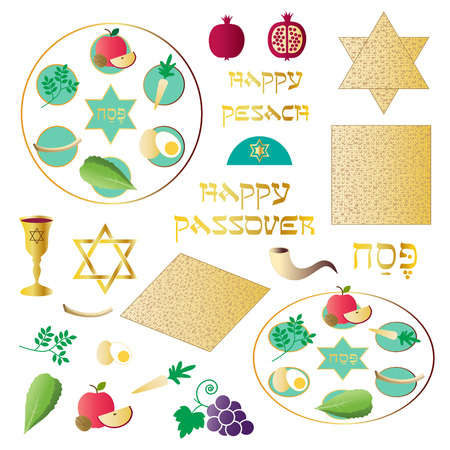 passover seder clipart: Royalty-free vector graphics